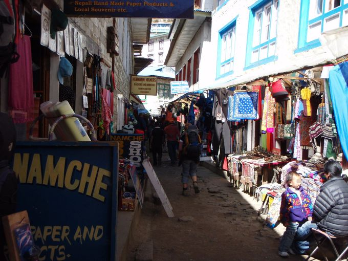 エベレスト街道随一の街「ナムチェ」