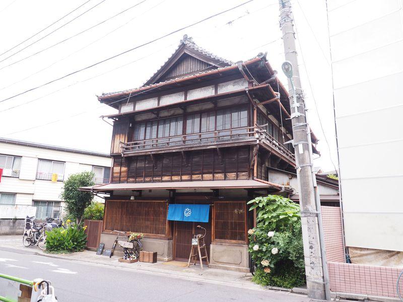 映画「ふきげんな過去」のロケ地、東京・池上の古民家カフェ「蓮月」