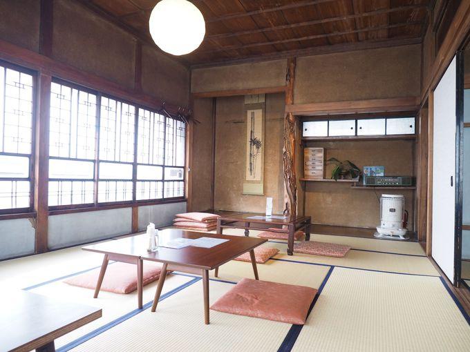 純和風の2階は居心地の良い畳敷き広間
