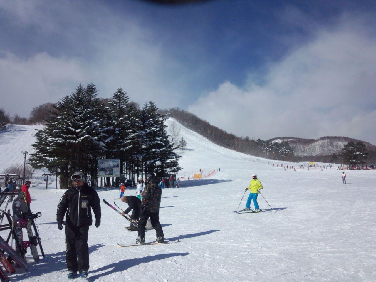草津国際スキー場まで車で五分!