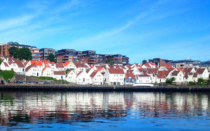 観光拠点は、港町スタヴァンゲル