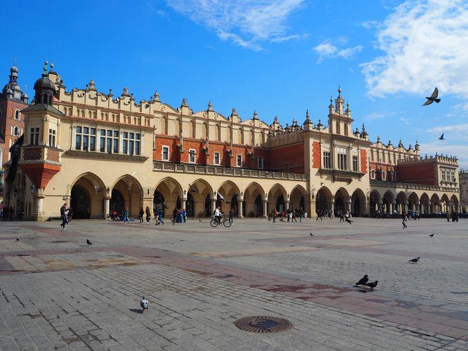 ユネスコの世界遺産に登録された、古色豊かな旧市街