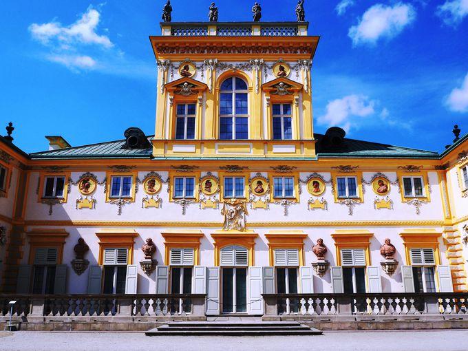 美しさは元祖にも負けてない!華麗なバロック宮殿