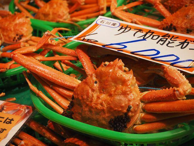目も胃袋も大満足!行かなきゃ損する金沢の「近江町市場」