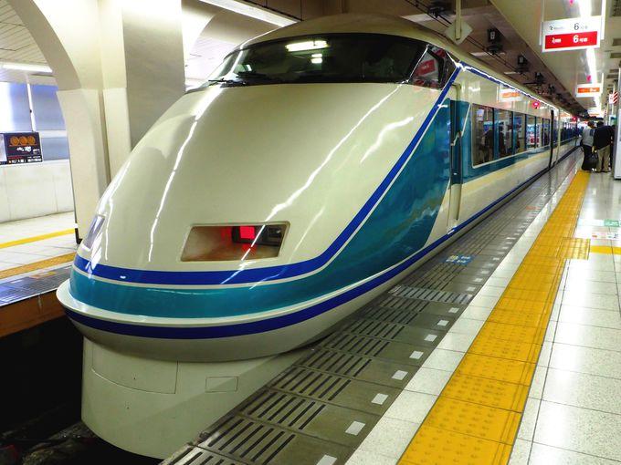 東武鉄道自慢の特急列車「スペーシア」