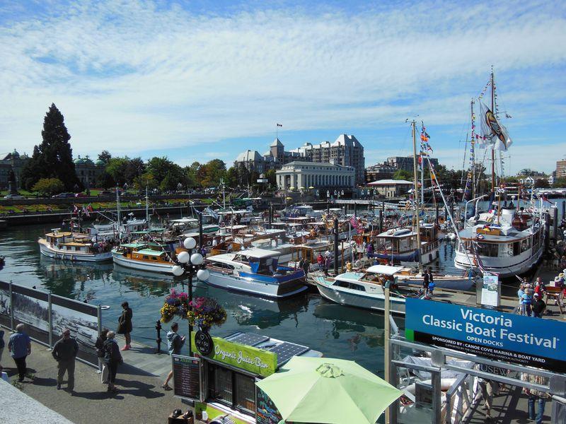 歩いて楽しい、ビクトリア!カナダで最も温暖で風光明媚な街
