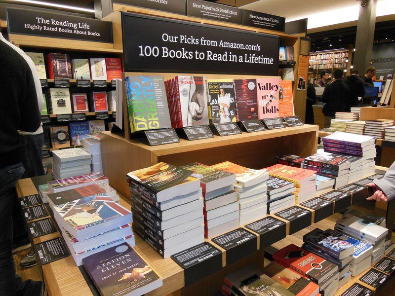 シアトルの新名所!アマゾン初の実店舗「Amazon Books」