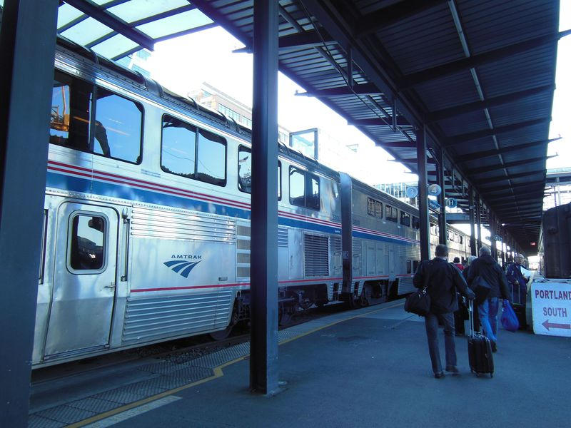 絶景に出会う、36時間鉄道の旅!アムトラックでアメリカ西海岸を縦断