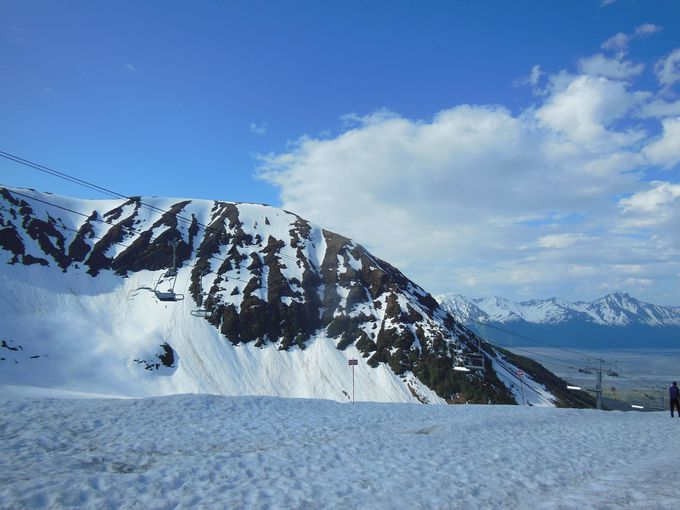 夏も冬も楽しい!アリエスカ山