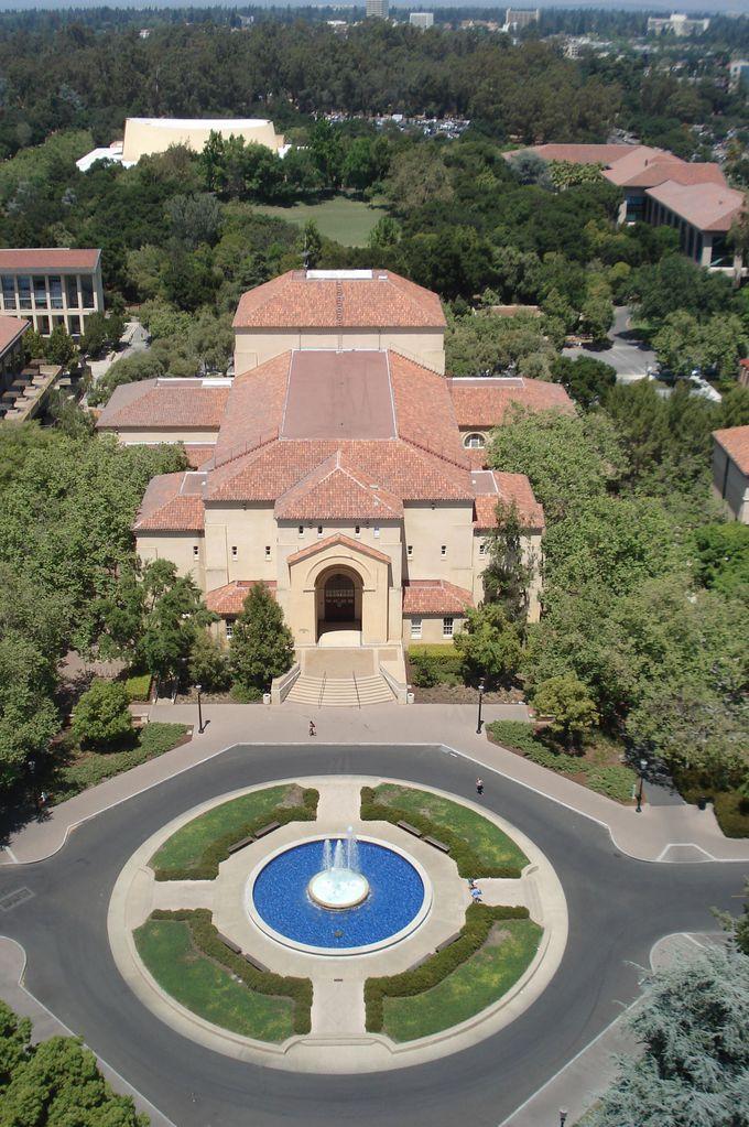 タワーからの眺めもおススメ!広大なキャンパスを見下ろす