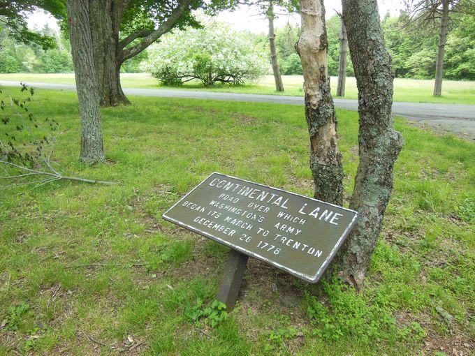 ニュージャージー州側の歴史公園