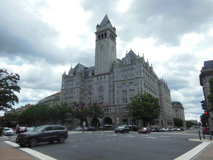 トランプ政権とともにトランプホテルも首都に進出!