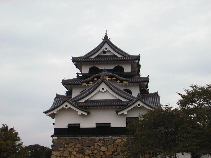 400年前に建てられた国宝の彦根城 「ひこにゃん」は残念ながら出張中