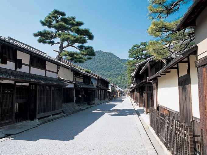 時代劇のセットのような 近江八幡新町通りを歩いてみましょう