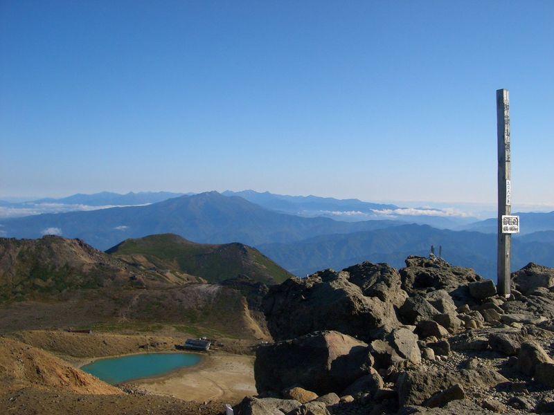富士山より混雑しません!標高3067mの「御嶽山」に登りませんか?