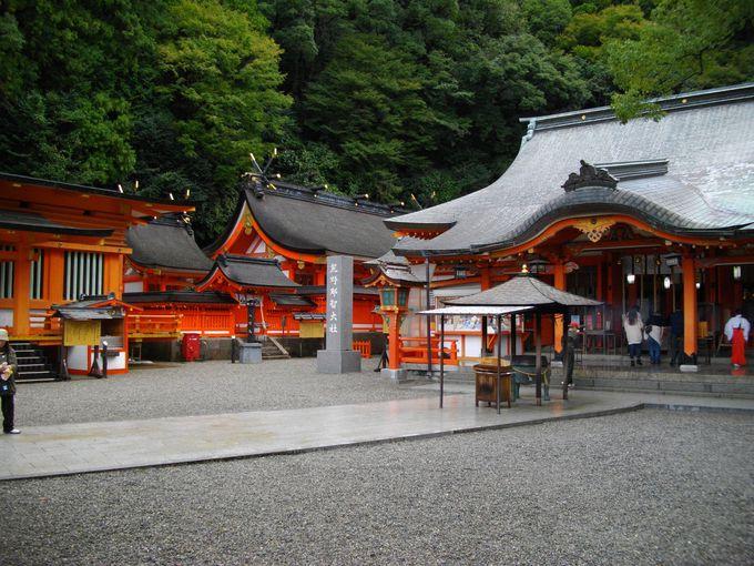 青岸渡寺と隣接している熊野那智大社