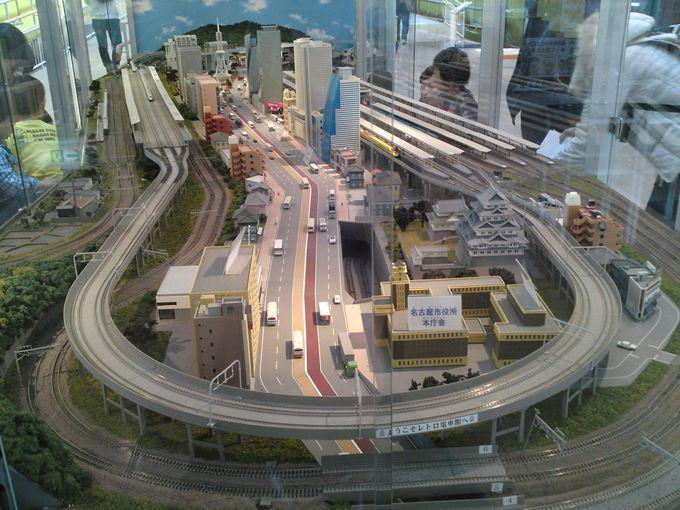 名古屋市内を再現した鉄道ジオラマで鉄道模型を動かしてみよう♪