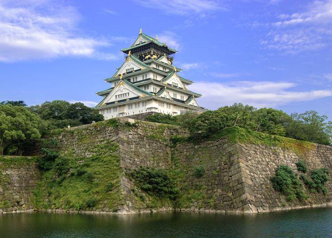 大坂城と石垣をもう一度見直してみよう