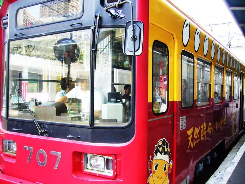 チンチン電車(阪堺電車)で行く利休が生んだ茶の湯と和スイーツの旅