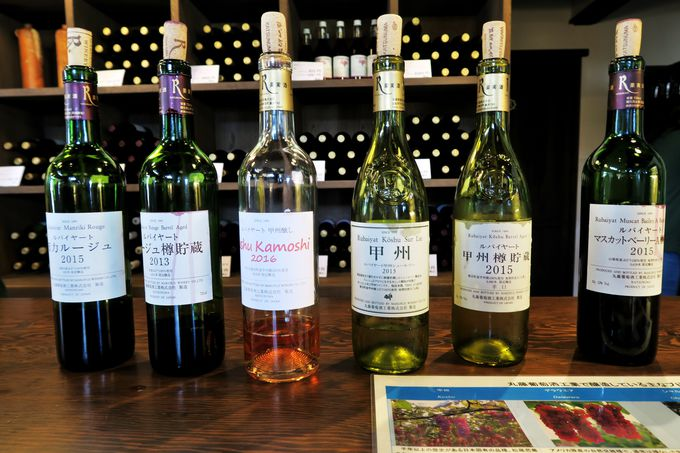 ワイン貯蔵庫の壁が「酒石」で星空のように輝く「丸藤葡萄酒工業」