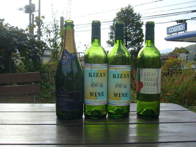日常的な食卓を思い浮かべながら、食前の一杯として楽しめるワインを造り続けている「機山洋酒工業」