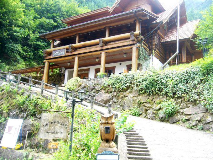 寛ぎの空間で体を和ませる青蓮寺湖畔「イングルサイド・カフェ」