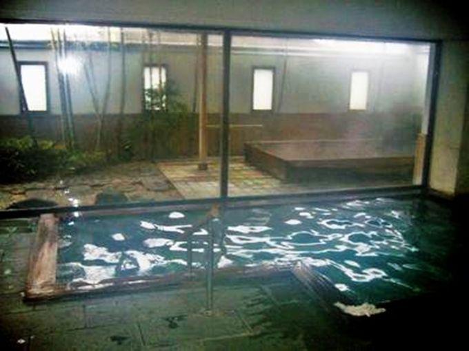 万葉の頃より湧き出る湯を和情緒あふれる風呂で堪能「ホテル玉の湯」