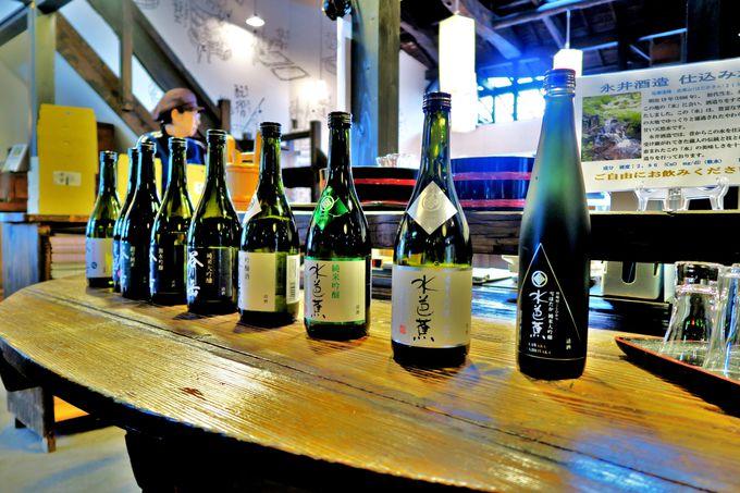 水のよさを最大限に引き出す酒造りの酒蔵「永井酒造」と「吉祥寺」