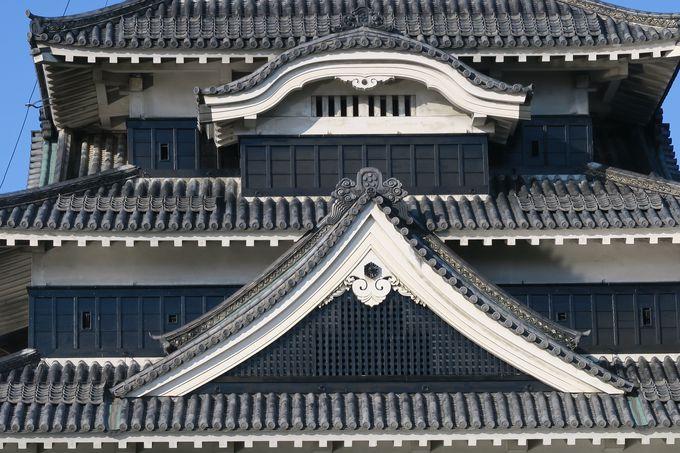 城の装飾「破風」と「花頭窓」と「狭間」