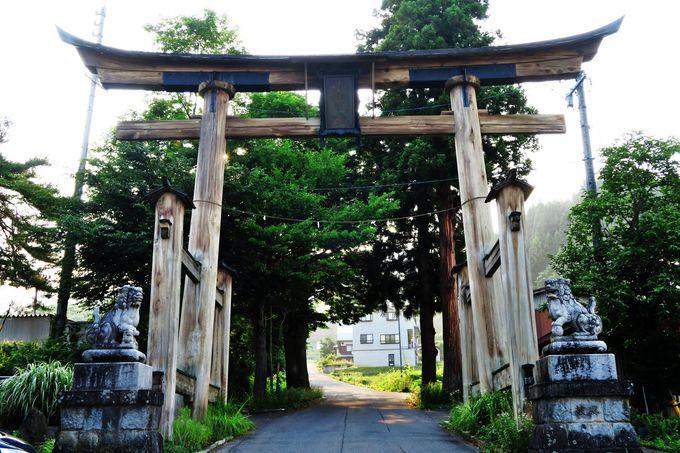 国の重要文化的景観指定の「小菅の里」