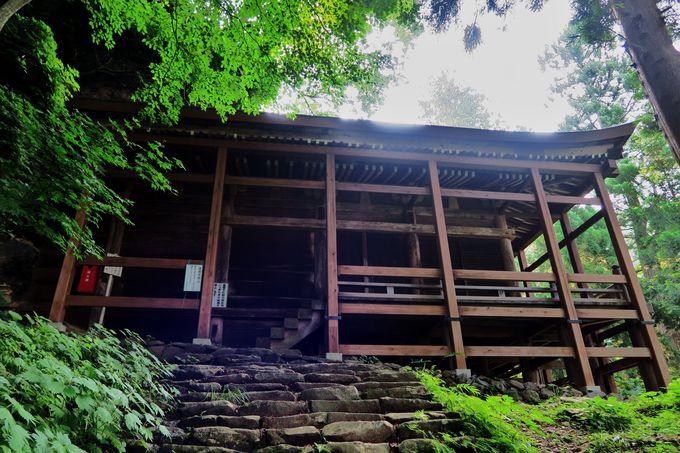 北信濃三大修験場「小菅神社奥社」への参道を歩く