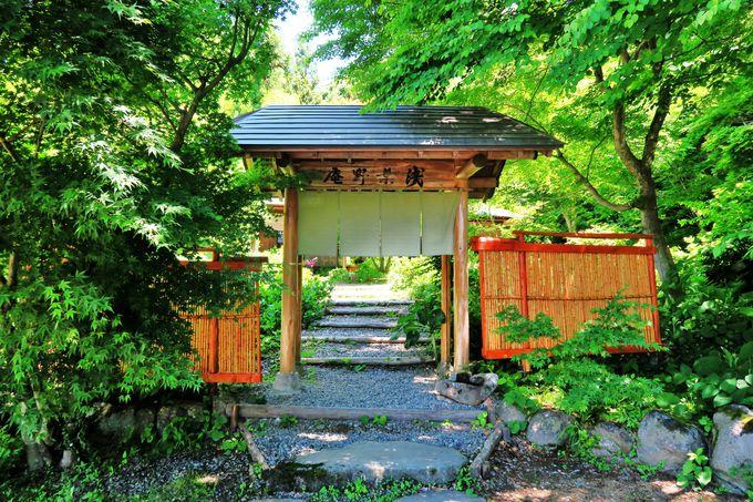 浅葉野の里に佇む茶処「浅葉野庵」で一息はいかが