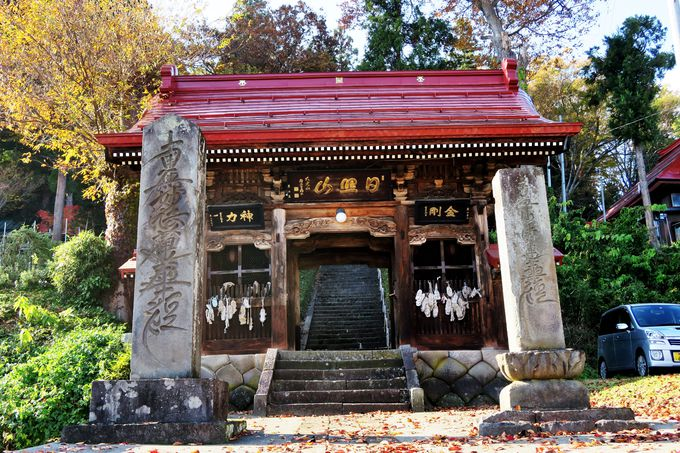 雁木通りと並行するように、点在する寺社をつなぐ「寺めぐり遊歩道」