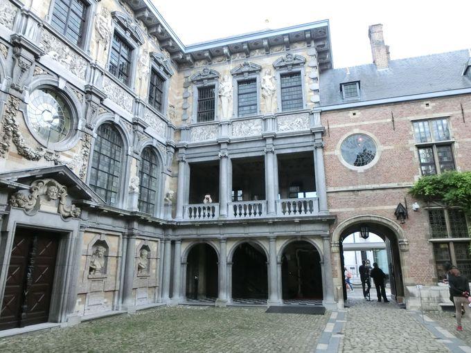 17世紀の豪邸ルーベンスハウス
