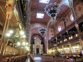 豪華絢爛!ブダペスト・ヨーロッパ最大のシナゴーグ