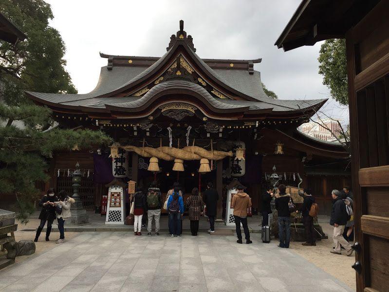 縁結びのご利益も!博多から徒歩15分の「櫛田神社」