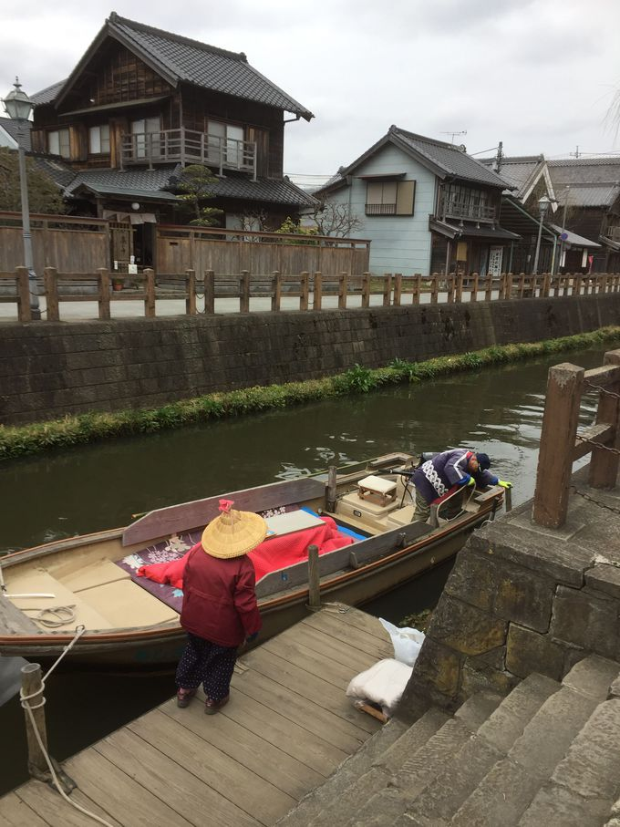 「小江戸」佐原の町を舟めぐり