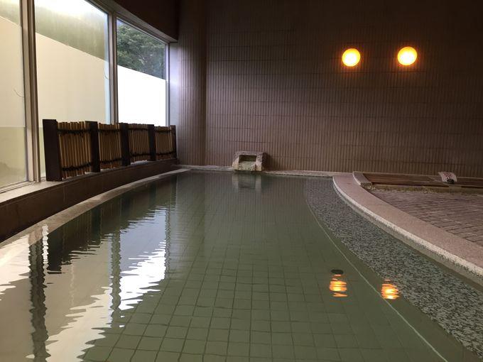 蔵王温泉ならではの強酸性の湯で美肌になろう