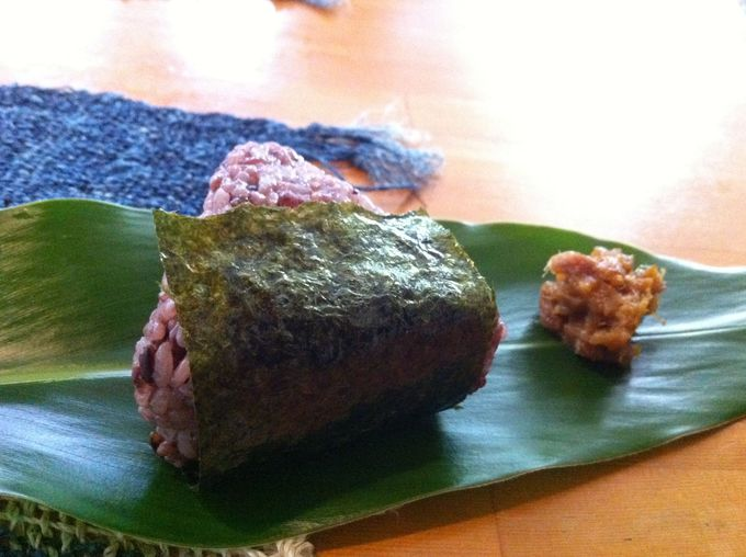 古代米おにぎりにも注目