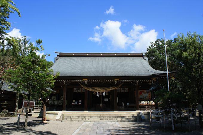 次なる目的地は町中の高台にある菊池神社