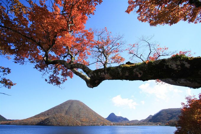 絵画のような紅葉の景色!群馬県の真ん中、榛名エリアへ