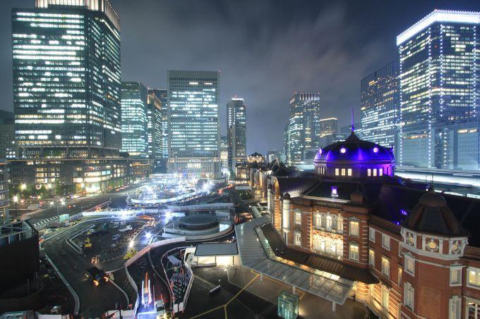 まずは東京駅前KITTEガーデンから