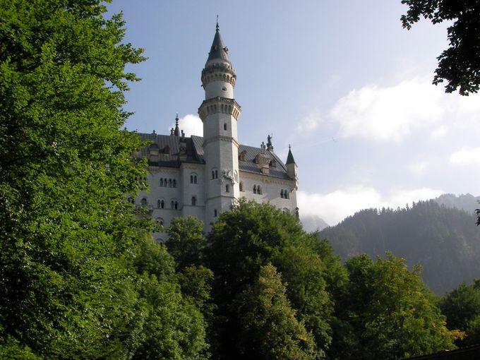 まずはノイシュヴァンシュタイン城