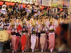 お盆はみんなで阿呆になろう!阿波おどりは徳島が誇る伝統の祭り|徳島県|トラベルjp<たびねす>