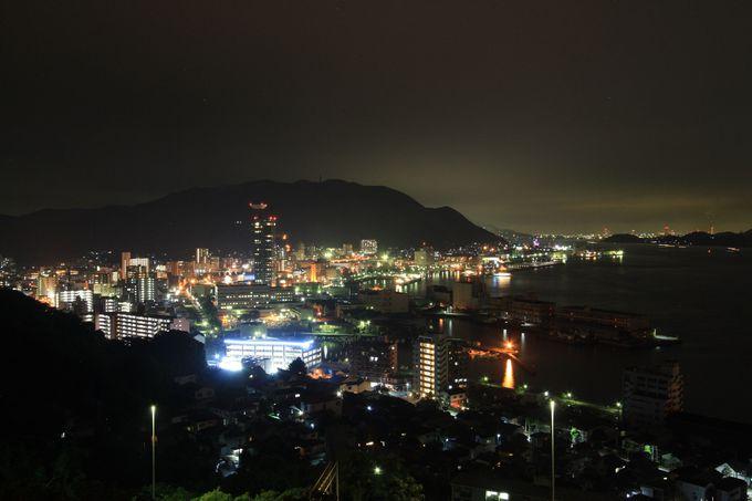 門司港の町の方向もバッチリ見えます