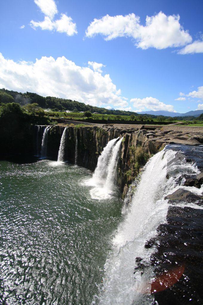 原尻の滝は東洋のナイアガラ