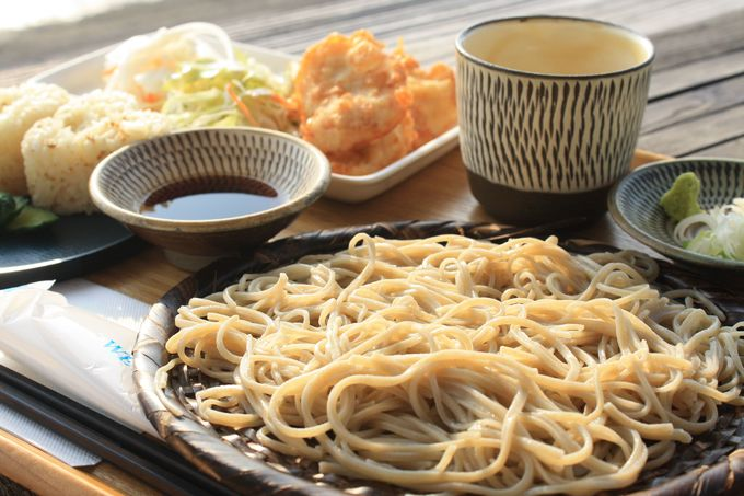 「SOBA CAFEゆうひ」で豊後高田蕎麦を
