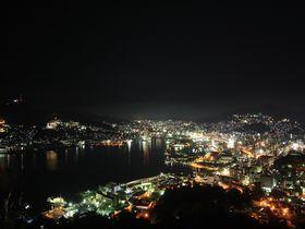 長崎で夜景スポットのハシゴ!稲佐山と鍋冠山公園で二つの違った夜景を楽しもう|長崎県|トラベルjp<たびねす>