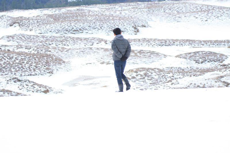 """絶景になるかどうかは運次第!?""""白の絶景""""雪の鳥取砂丘を見に行こう"""