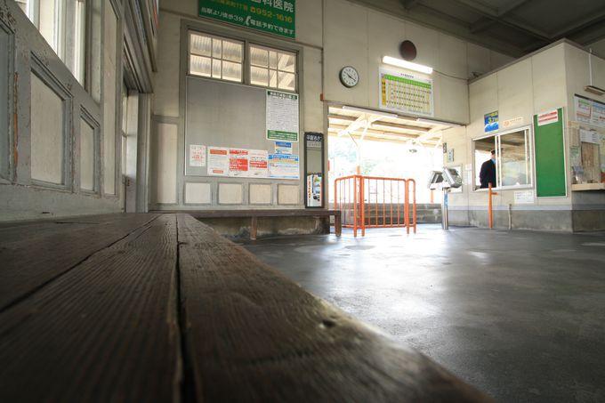 風情溢れる駅舎